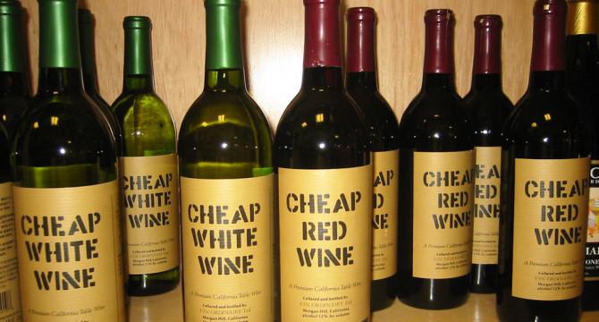 Vinul, mai ieftin decat apa